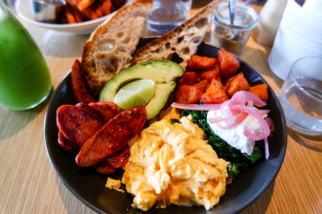 breakfast, cronulla, morning glory bowl, avocado, healthy breakfast, nourishing food, breakfast bowl, blackwood pantry