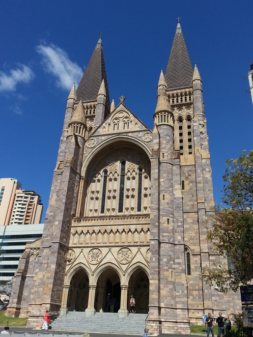 Brisbane open House, St Johns cathedral, coin collection