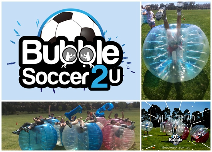Bubble Soccer 2 U Canberra ACT Teenage Birthday Parties