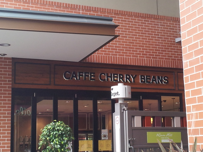 cafe, cherry beans, rouse hill town centre, food, coffee lovers, drinks