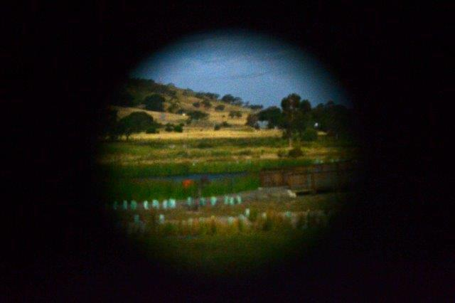 Mt Compass Wetlands viewed inside The Magical Moving Picture Show