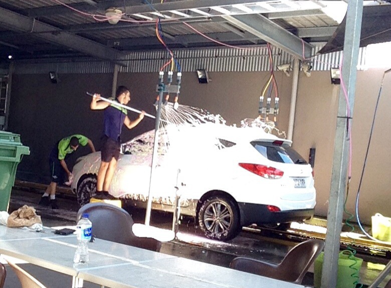 car wash cafe hoppys handwash cafe car wash in gold coast gold