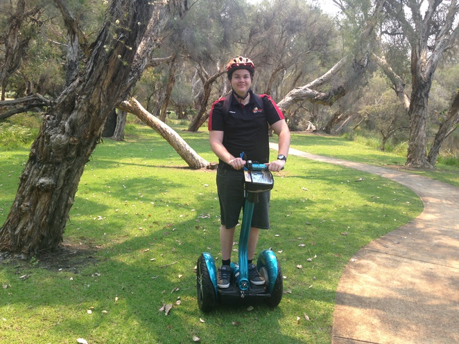 chariots of hire, segway hire perth, whiteman park segway tours,