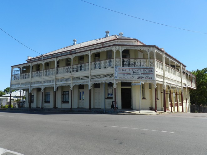 charters towers, Royal private hotel, Australian heritage buildings, heritage walk, townsville, heritage hotels, queensland tourism,