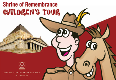 shrine of remembrance school holiday activities Melbourne