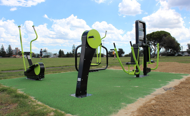 christison park, christison park outdoor gym, free gym eastern suburbs