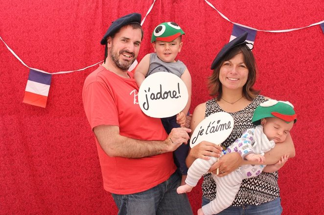 Christmas Photo Booth at French Market