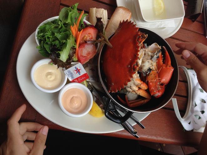crab, belvedere, steak and crab house, woody point, the belvedere