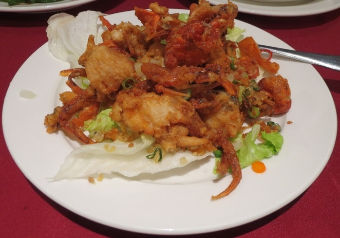 Ding Hao's Salt & Pepper Soft Shell Crab, Adelaide