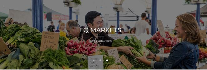 EQ Makets, cambridge markets, moore park markets, fox studios markets