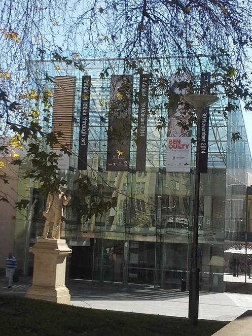 Facade of State Library of South Australia