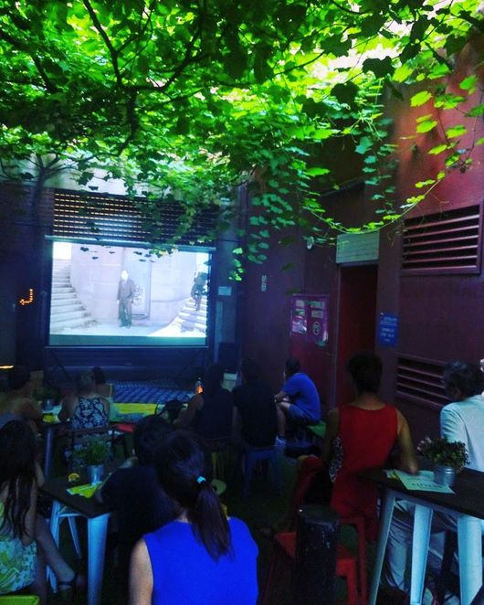 Films Under the Vines, featherstone place, BASEM3NT Studios, free outdoor cinema, adelaide, rundle mall, free