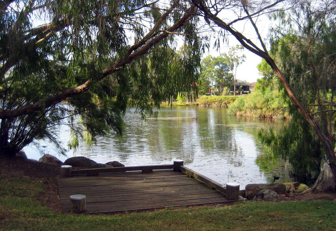 Forest Lake in the Brisbane Suburb of Forest Lake