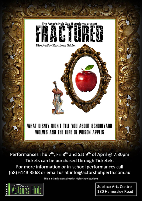 Fractured, The Actors Hub, Hermione Gehle, Bullying, The Gap II Program