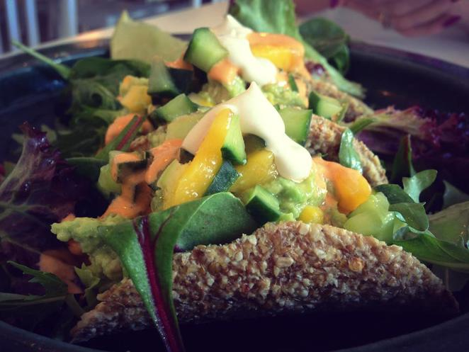 From Earth and Water Raw Vegan Tacos