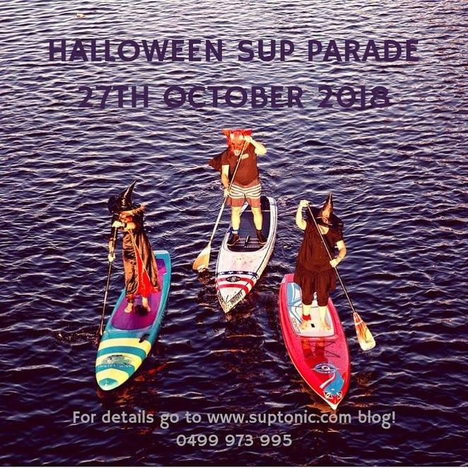 halloween events in perth 2018, halloween party perth, sup halloween, free halloween events
