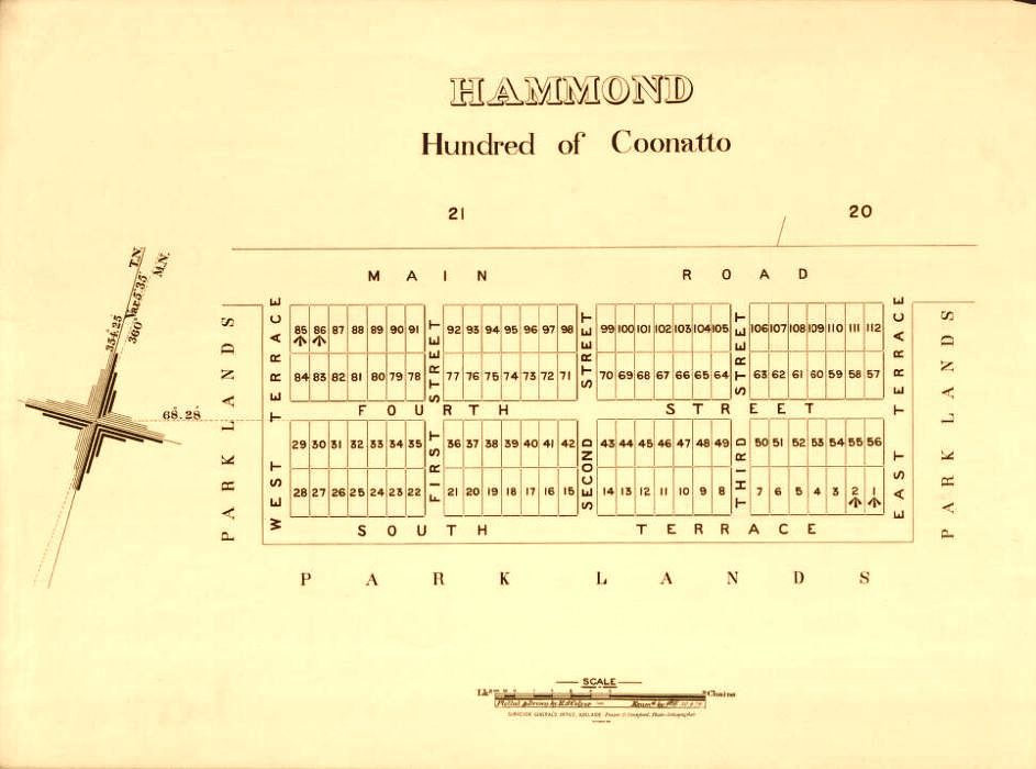 Ghost Towns In Australia Hammond Adelaide - Map of australia with towns