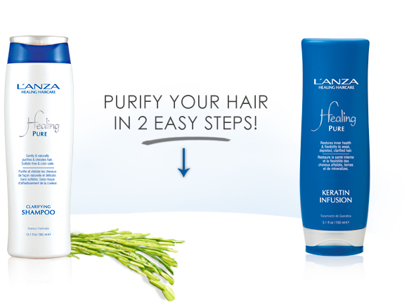 healing, pure, hair care, hair products, salon, hairdressers, hair salon, hair products, L'Anza, L'Anza healing hair care australia