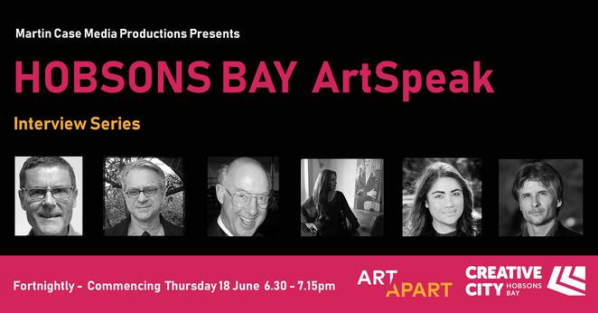 hobsons bay artspeak 2020, community event, fun things to do, artspeak interview series with artists, composers, performing musicians, michael stewart, richard vella, martin case, dough heywood, sherry rich, shauntai batzke, music video, performance, zoom portal, martin case media productions, council free talk speaker event