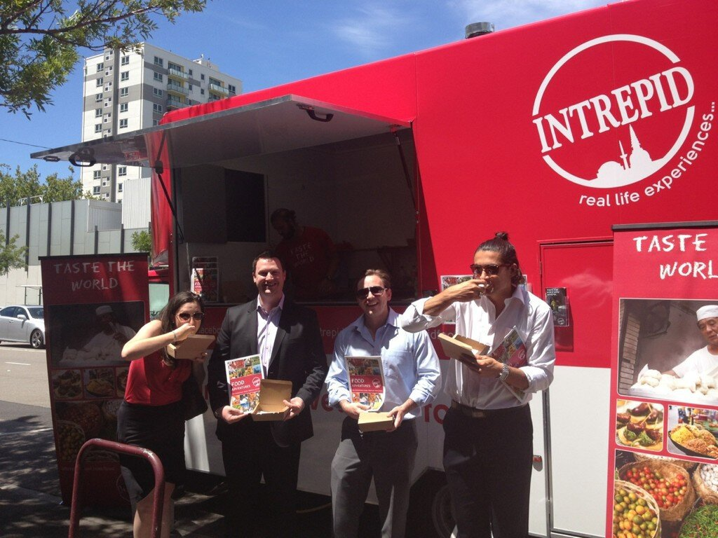 Taste The World At The Intrepid Travel Food Truck Melbourne - Intrepid tours