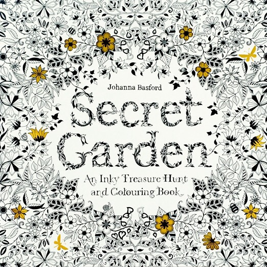 Johanna Basford, Secret Garden, Enchanted Forest, colouring in, adults, inky treasures, ink evangelist, illustrator