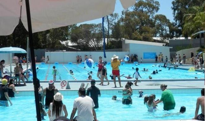 Kalamunda Australia Day Pool Party.
