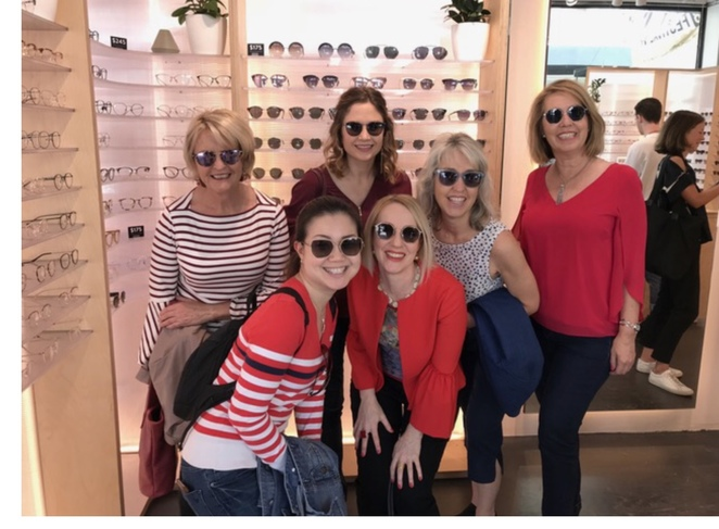 Ladies out having fun on a Personal Stylist Shopping Tour