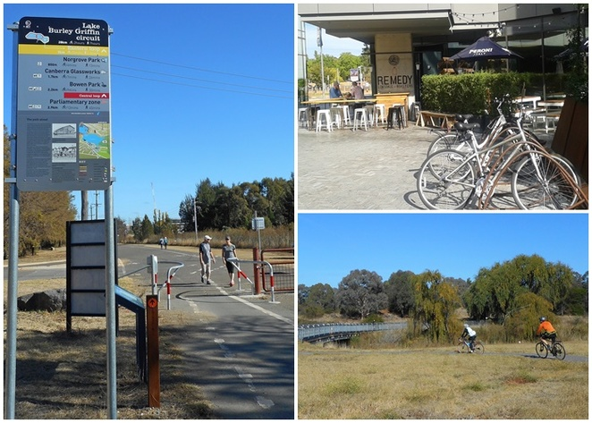 lake burley griffin, eastern loop, canberra, ACT, kingston foreshore, bike paths, walking paths, exercise, running, cycling,
