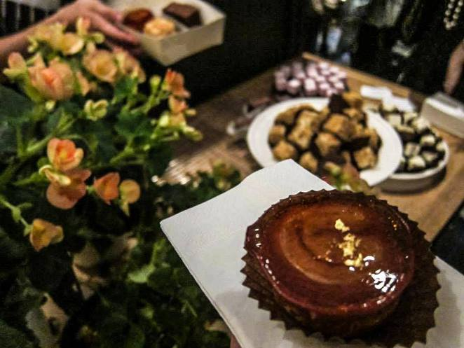 Lorraine's Patisserie desserts at launch party