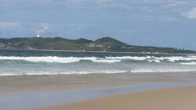 Main Beach, Byron Bay. Stay at Bay Motel