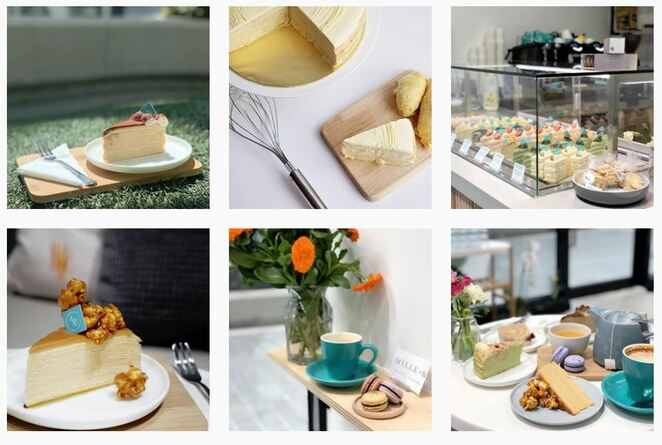 millieandb,millie and,b,pateisserie, carlton,new,melbourne