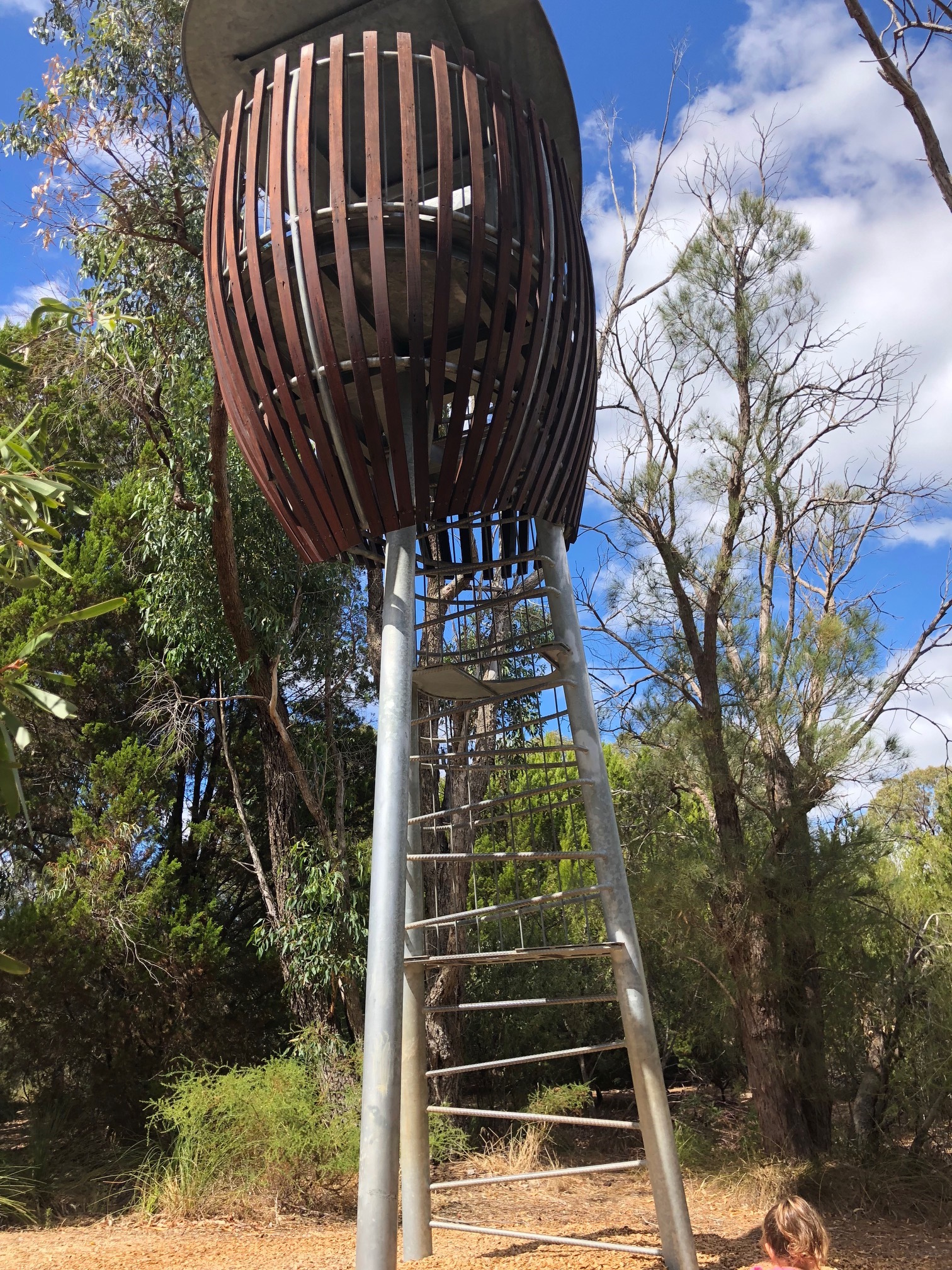 naturescape kings park tinto rio nature perth revamp completion stage climb structure another