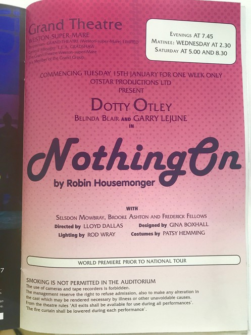 nothing on, noises off, queensland theatre , melbourne theatre company.
