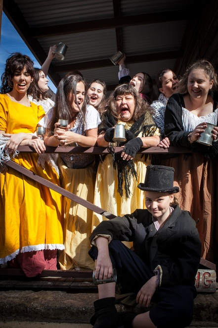Oliver!, Koorliny Arts Centre, musical, family, kids, theatre, Oliver Twist, Laughing Horse Productions, school holidays, performing arts