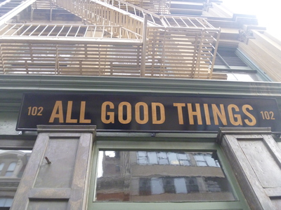 All Good Things Market Tribeca New York