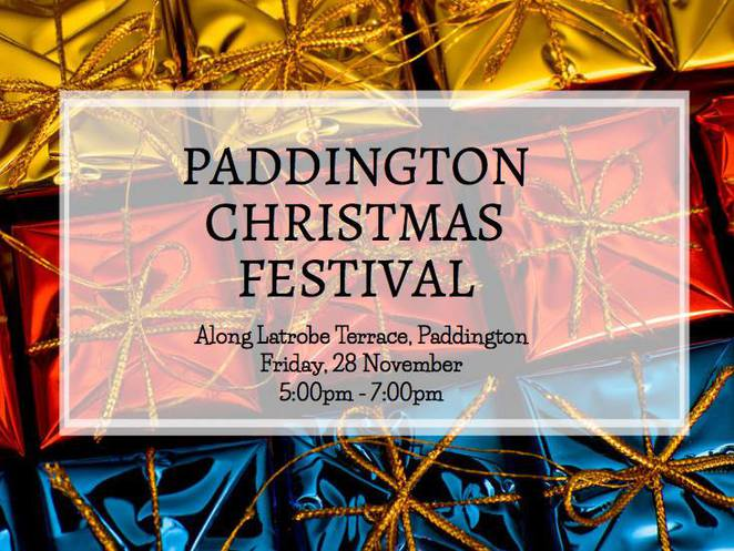 Paddington, Christmas, Festival, Markets, Shopping, Xmas, Latrobe Terrace,