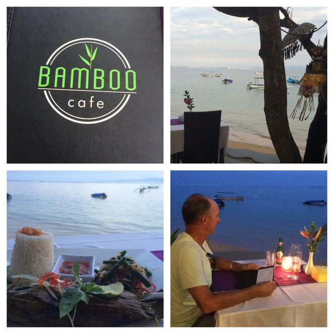 Restaurant Right on the Beach at Sanur