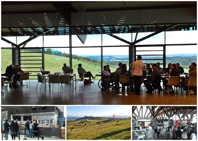sprout cafe, canberra, national arboretum, cafes with views, lookouts, ACT, coffee, breakfast, lunch