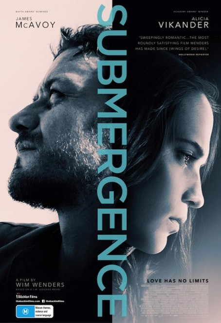 submergence, film review, movie review,