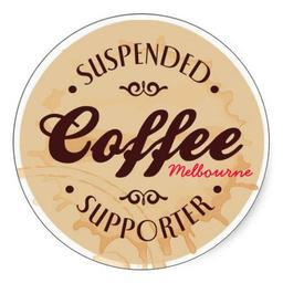 Suspended coffee, coffee,