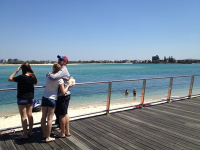 The Boardwalk is a fantastic area to get in your daily exercise