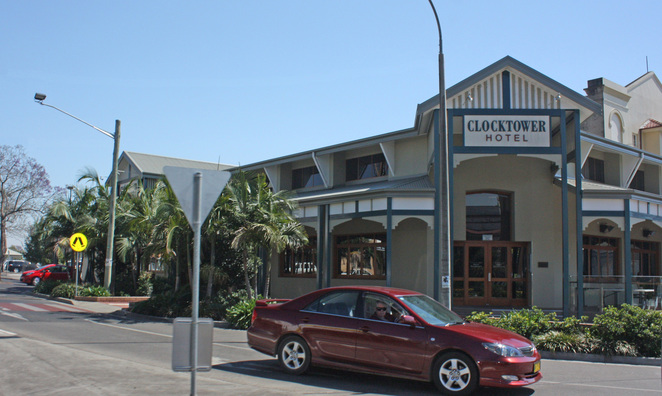 The Clocktower Hotel, Grafton NSW
