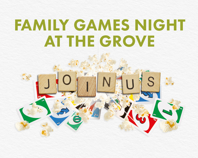 The Grove, family games night, uno, jenga champion, Picasso, Pictionary, two girls next door, food, zambrero, lunches etc, chi chi modern asian, sakura sushi, subway, wendy's