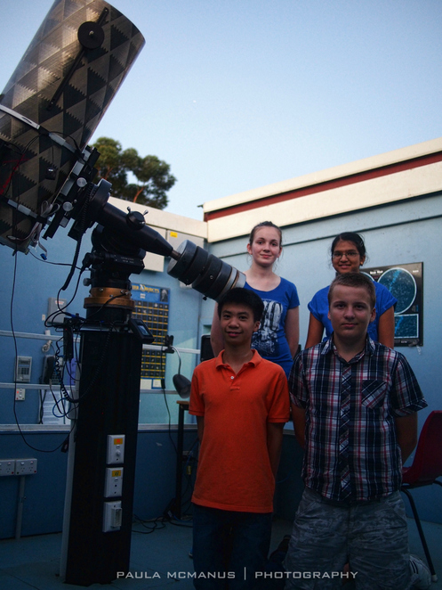 The Heights STAR Group with the Ritchey-Chrétien Cassegrain telescope margin=