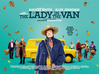 the lady in the van, alan bennett, maggie smith