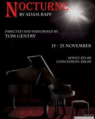 Tom Gentry, IKAG Productions, The Bakehouse Theatre, Nocturne, Adam Rapp