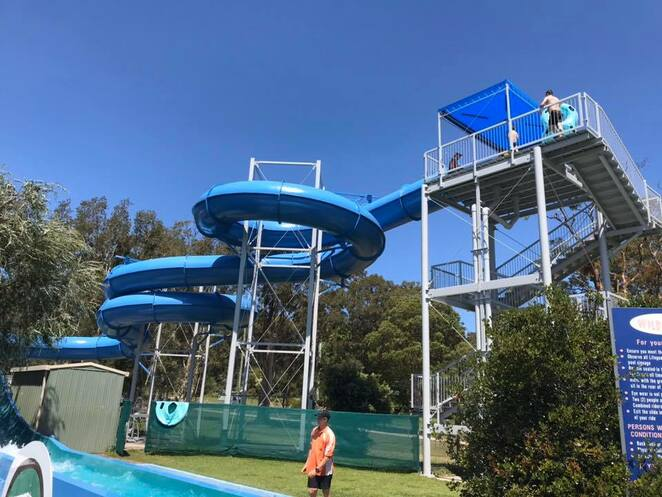 tomaree aquatic centre, splash parks, water slides, nelson bay, port stephens, NSW, school holidays, things to do, kids, children,