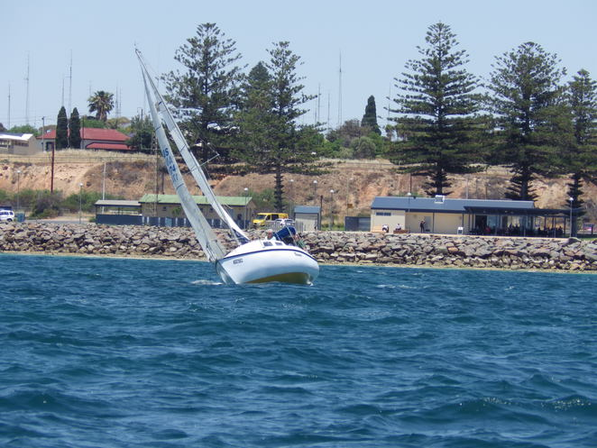 Toucan sailing, sailing boat, Wallaroo, water, bay, Spencer Gulf
