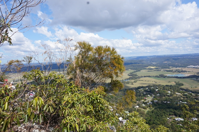 View from Mt Ninderry