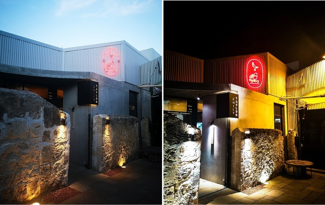 Before and after dark at Emily Taylor Fremantle